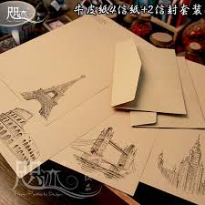 buy retro romantic love letter stationery confession chinese