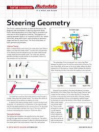 steering geometry steering tire