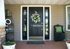 front door beautiful front door painted black ideas best color