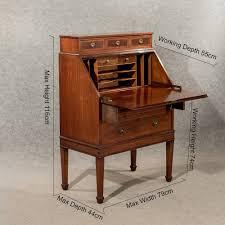 Antique Writing Table Antique Writing Desk Bureau Edwardian Mahogany Antiques Atlas
