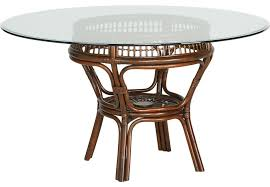 island sunrise brown rattan dining table dining tables dark wood