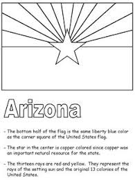 learn facts about arizona with this fun coloring page free