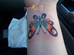collection of 25 butterfly on wrist