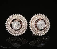 illusion earrings diamond 16 best illusion earrings images on ear rings