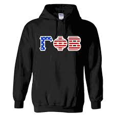 Phi Kappa Psi Flag Gamma Phi Beta American Flag Greek Letter Hoodie California