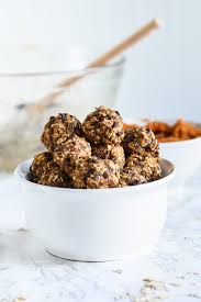 pumpkin spice oatmeal energy bites the sweetest occasion
