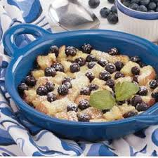 blueberry bread pudding recipe taste of home