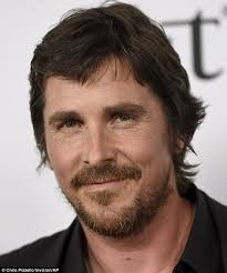 bale needs a hair cut christian bale with elegant wife sibi at the promise in la daily