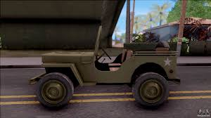 kaiser willys jeep jeep willys mb military for gta san andreas