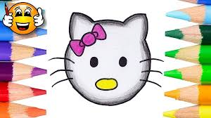draw kitty emoji draw