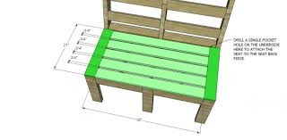 Wood Patio Furniture Plans Free by Free Diy Furniture Plans To Build Customizable Outdoor Furniture