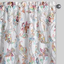 Teal And White Curtains Curtains Drapes Window Treatments World Market
