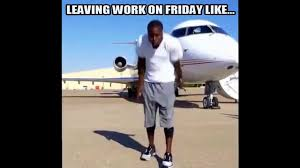 Friday Work Meme - kevin hart hustle dance meme leaving work on friday youtube