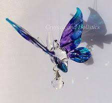 glass butterfly garden ornaments ebay