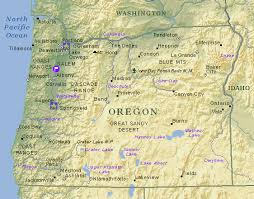 oregon map with cities oregon gif