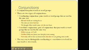 Worksheets On Interjections Conjunctions U0026 Interjections Youtube