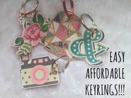 make key rings images How to make cute keyrings using stickers and a laminator cute jpg