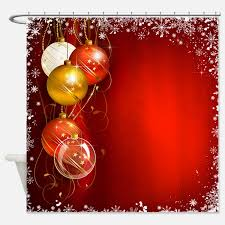 curtains amazing christmas shower curtain design christmas