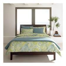Crate And Barrel Platform Bed Addison Platform Bed Frame Queen Almond White Simple Bed