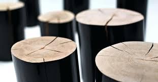 Log Side Table Log Side Tables Unispa Club