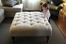 Cushioned Ottoman Large Ottoman Coffee Table Style Ottoman Large