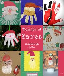 handprint santa crafts up santa crafts diy