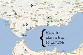 Travel Maps Travel Map Of Europe Thefreebiedepot