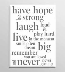 wall decoration quote canvas wall art lovely home decoration