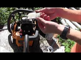 how to service poulan chainsaw spark plug and air filter youtube