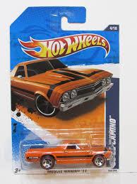 Redline Muscle Cars - wheels 2011 muscle mania u002768 el camino orange redline wheels