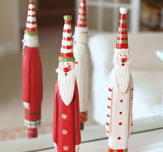 Red Metal Christmas Decorations by 40 Wooden Christmas Decorations All About Christmas