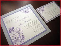 silver wedding invitations lavender and silver wedding invitations image of wedding