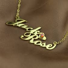necklace names gold nameplate necklace carrie style