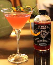 for the holiday toast shrubs and garnishes add the festive flare
