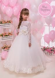 dress for communion communion dresses lace tulle sleeved