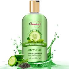 green tea and cucumber shower gel luxury shower gel with pure