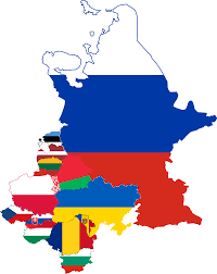map of eastern european countries file flag map of the eastern european countries svg wikimedia