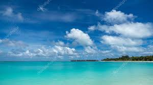 tropical island paradise perfect tropical island paradise beach maldives stock photo