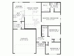 plan maison simple 3 chambres 3 chambres et suite parentale pour une maison carré fonctionnelle