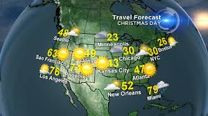 Weather Map Los Angeles by A Quiet Christmas Weather Week Cbs Dallas Fort Worth
