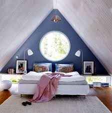 Loft Bedroom Meaning 23 Decorating Ideas For Kids Room With Pitched Roof Dachausbau