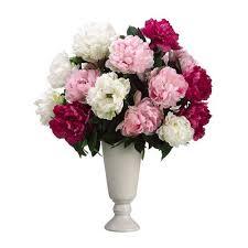 Faux Peonies 325 Best Flower Arrangements Images On Pinterest Silk Flowers