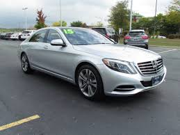 mercedes s class 2015 sedan certified pre owned 2015 mercedes s class s 550 sedan in st