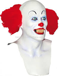 scary clown halloween mask top selling halloween prop latex costume scary clown mask for