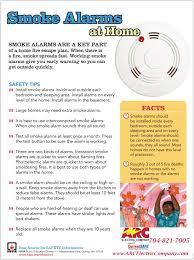 smoke alarm safety arc electric company