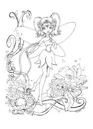 fairy adults printable free coloring pages art coloring pages