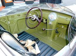 Antique Auto Upholstery Car Interiors Sometimes Less Is More