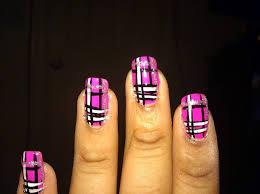60 most beautiful plaid design nail art ideas for trendy girls