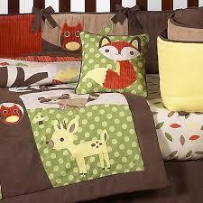 woodland forest animals baby bedding 9pc crib set by sweet jojo