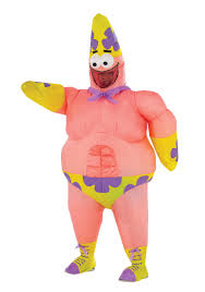 halloween costume meme inflatable patrick star movie costume